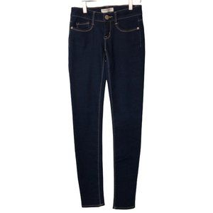 No Boundaries Skinny Ankle Size 1 / 24 Dark Blue Jeans Women's Juniors Denim